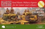 62024 Plastic Soldier Company 1/72 Scale Churchill Tank (2)